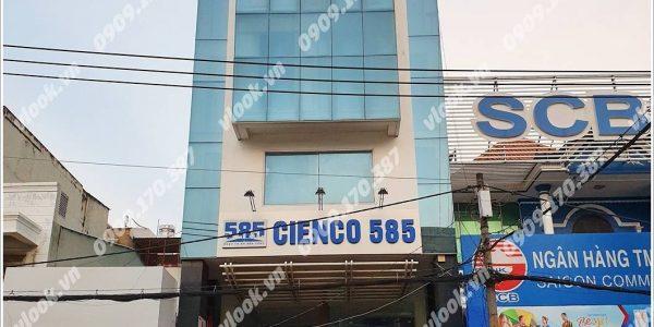 Cao ốc văn phòng cho thuê Cienco 585 Building, Đường D2, Quận Bình Thạnh - vlook.vn