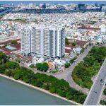 Cao ốc văn phòng cho thuê Riva Park, Nguyễn Tất Thành ,Quận 4 - vlook.vn
