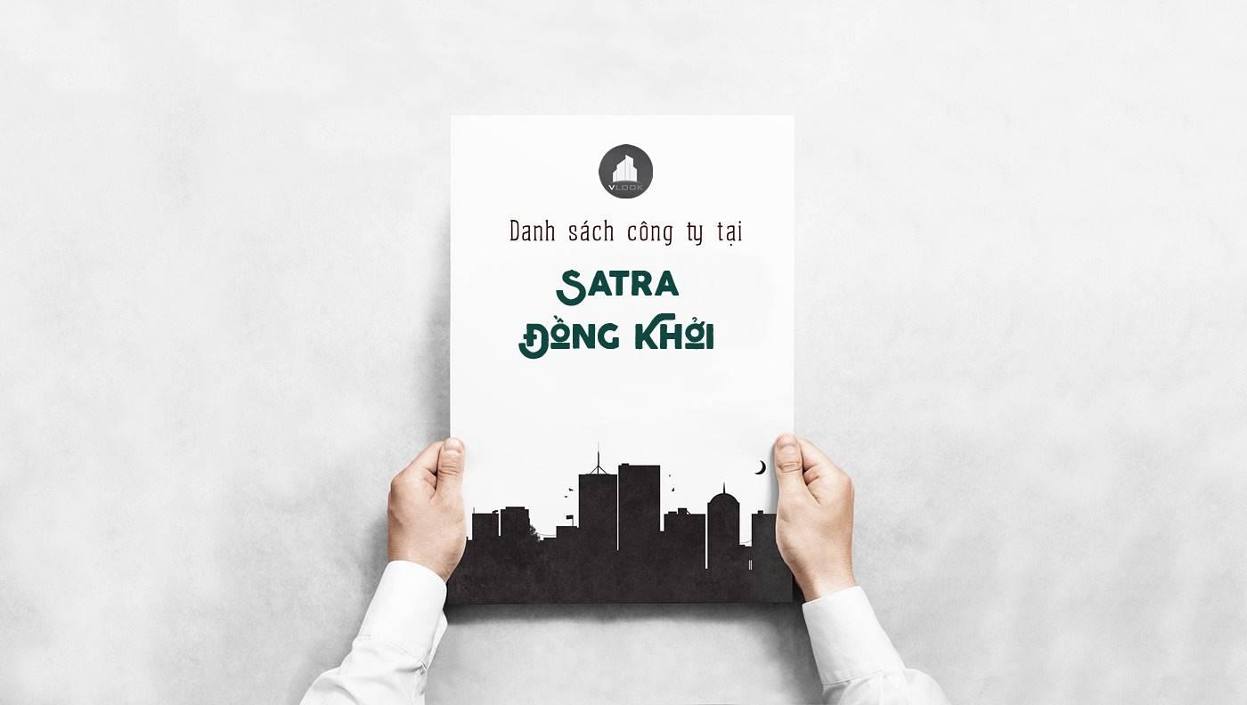 Danh sách công ty thuê văn phòng tại Satra Đồng Quận 1, TP.HCM