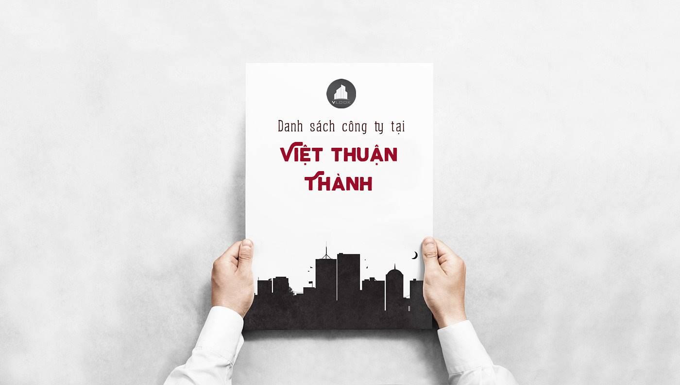 Danh sách công ty thuê văn phòng tại Việt Thuận Thành Building Quận 1