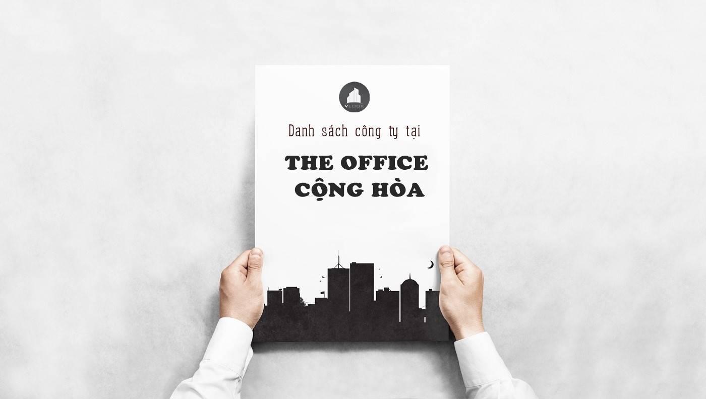 Danh sách công ty tại tòa The Office Cộng Hòa