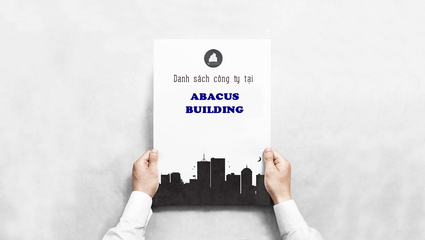 Danh sách công ty tại văn phòng Abacus Building Nguyễn Đình Chiểu, Quận 1 - vlook.vn