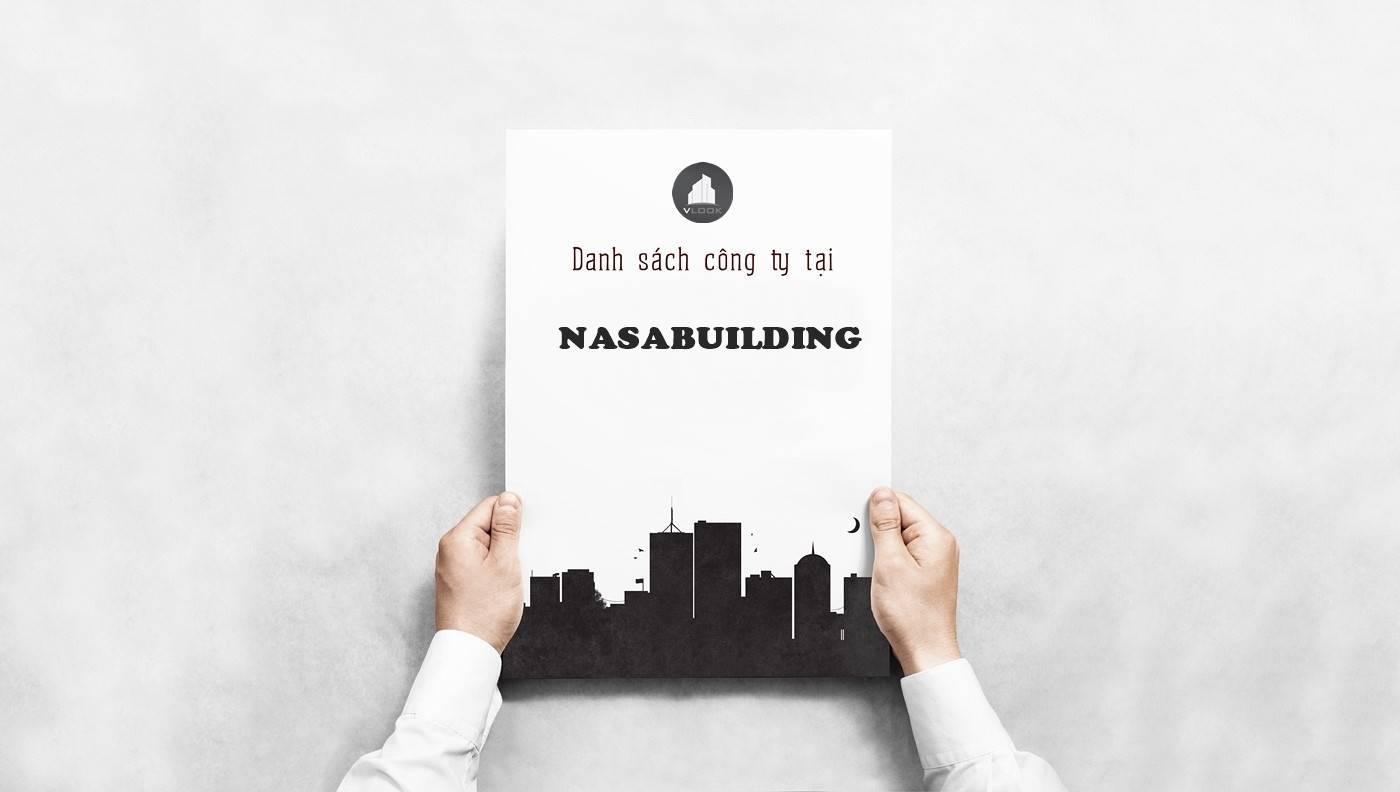 Danh sách công ty tại tòa NasaBuilding