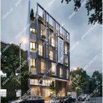 Cao ốc cho thuê văn phòng Sabay Office XI Cửu Long Quận Tân Bình - vlook.vn