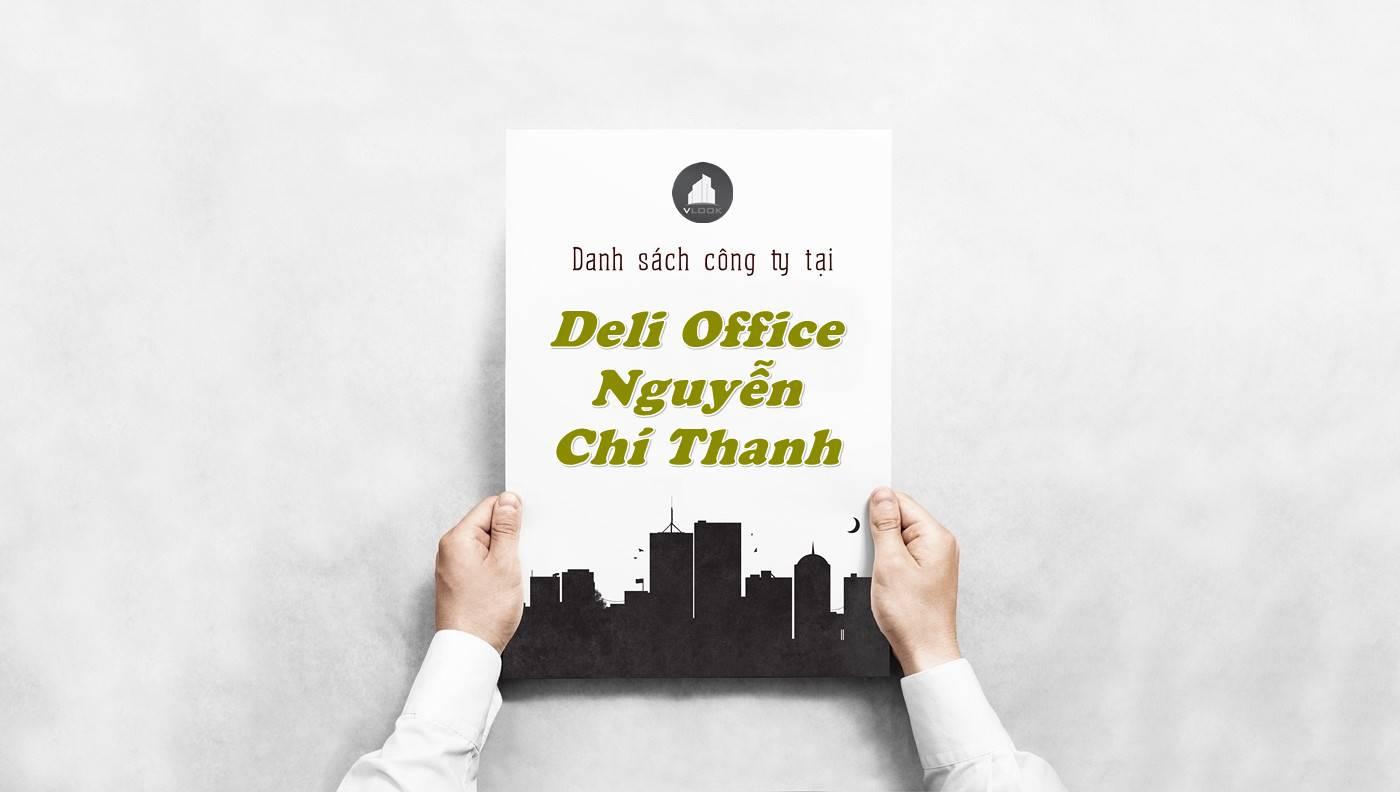 Danh sách công ty thuê văn phòng tại Deli Office, Quận 5 - vlook.vn