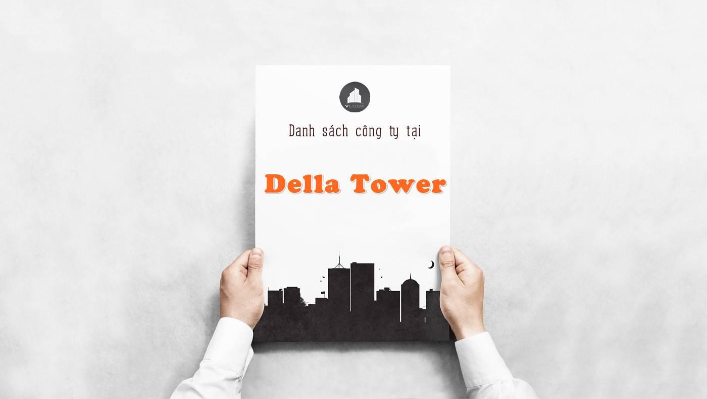 Danh sách công ty tại tòa nhà Della Tower, Quận 1 - vlook.vn