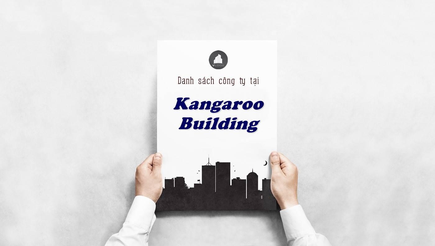 Danh sách công ty tại tòa nhà Kangaroo Building, Quận 5 - vlook.vn