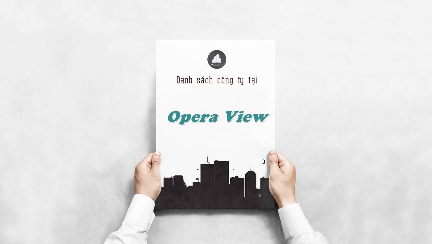 Danh sách công ty tại tòa nhà Opera View, Quận 1 - vlook.vn