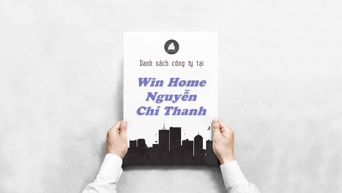 Danh sách công ty thuê văn phòng tại Win Home Nguyễn Chí Thanh, Quận 5 - vlook.vn