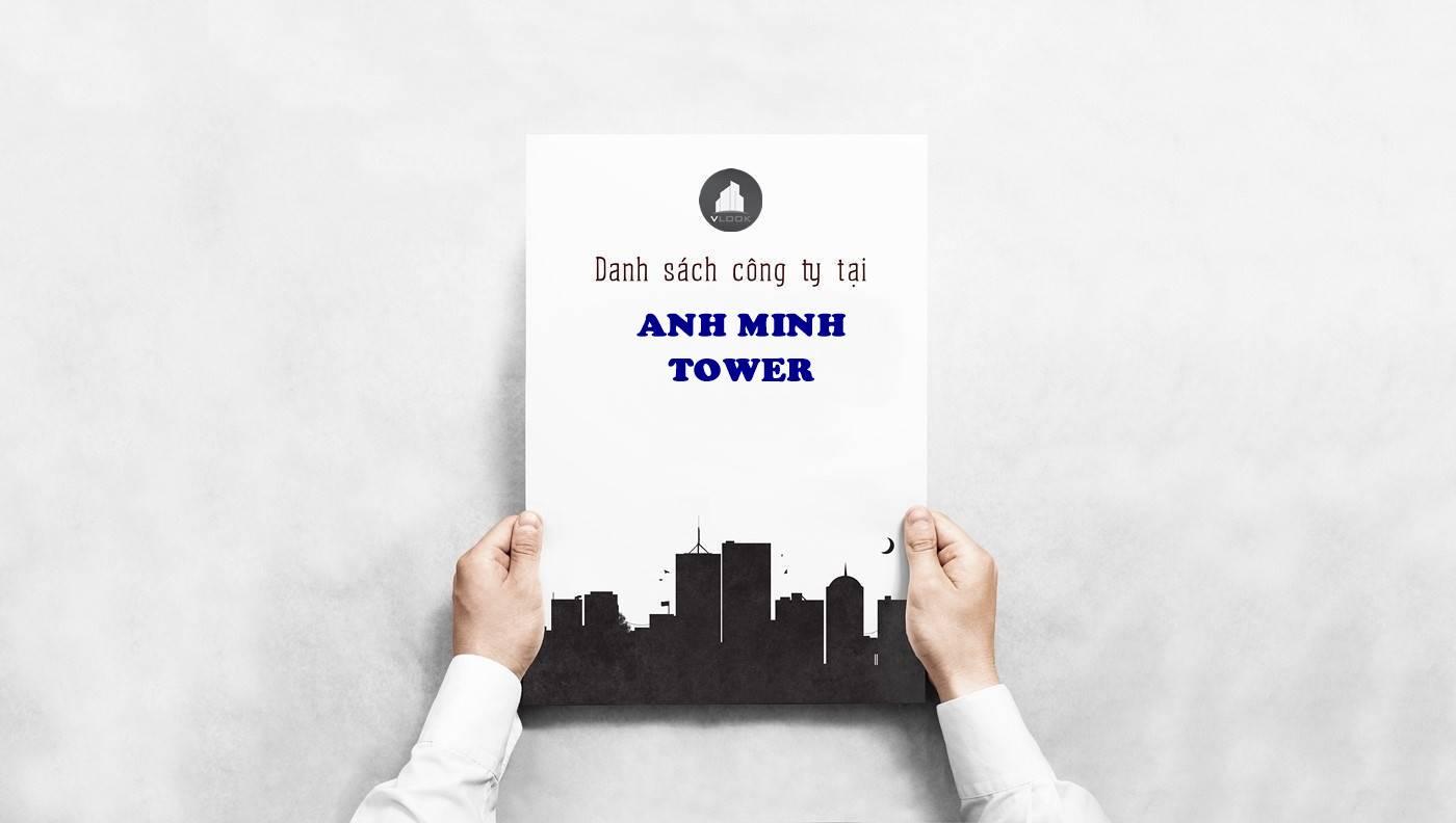 Danh sách công ty tại văn phòng Anh Minh Tower Nguyễn Đình Chiểu, Quận 3 - vlook.vn