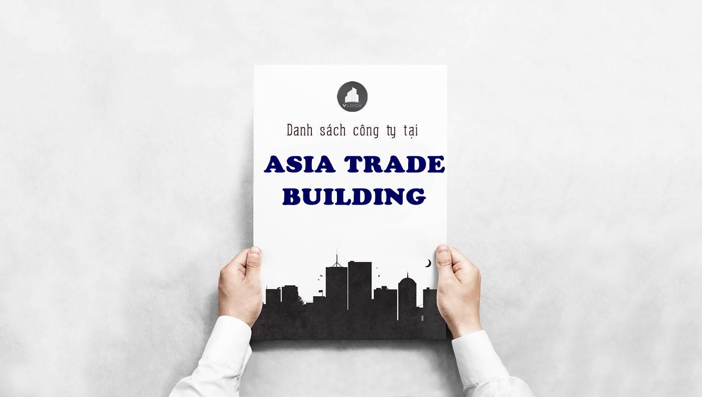 Danh sách công ty tại tòa nhà Asia Trade Building Huỳnh Tấn Phát, Quận 7 - vlook.vn