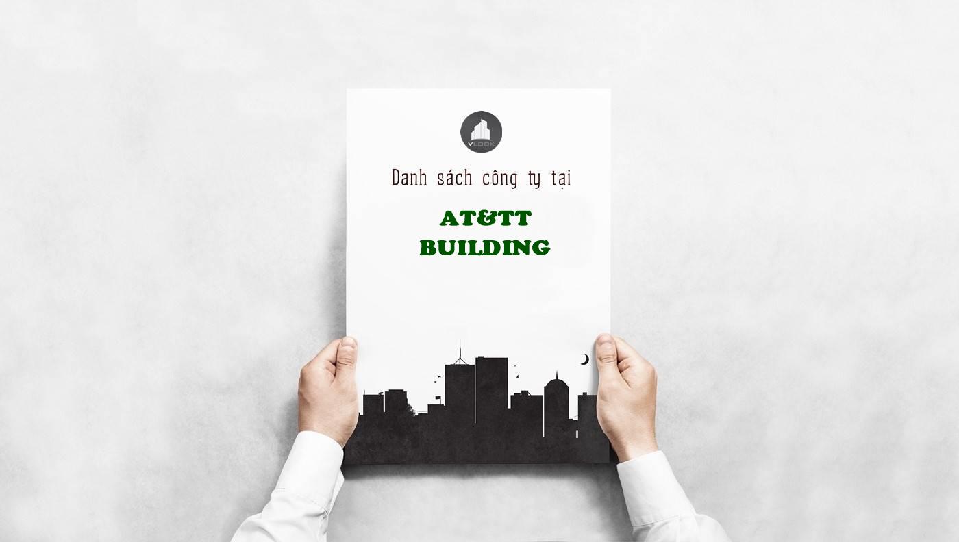 Danh sách công ty tại văn phòng AT&TT Building Nguyễn Đình Chiểu, Quận 3 - vlook.vn