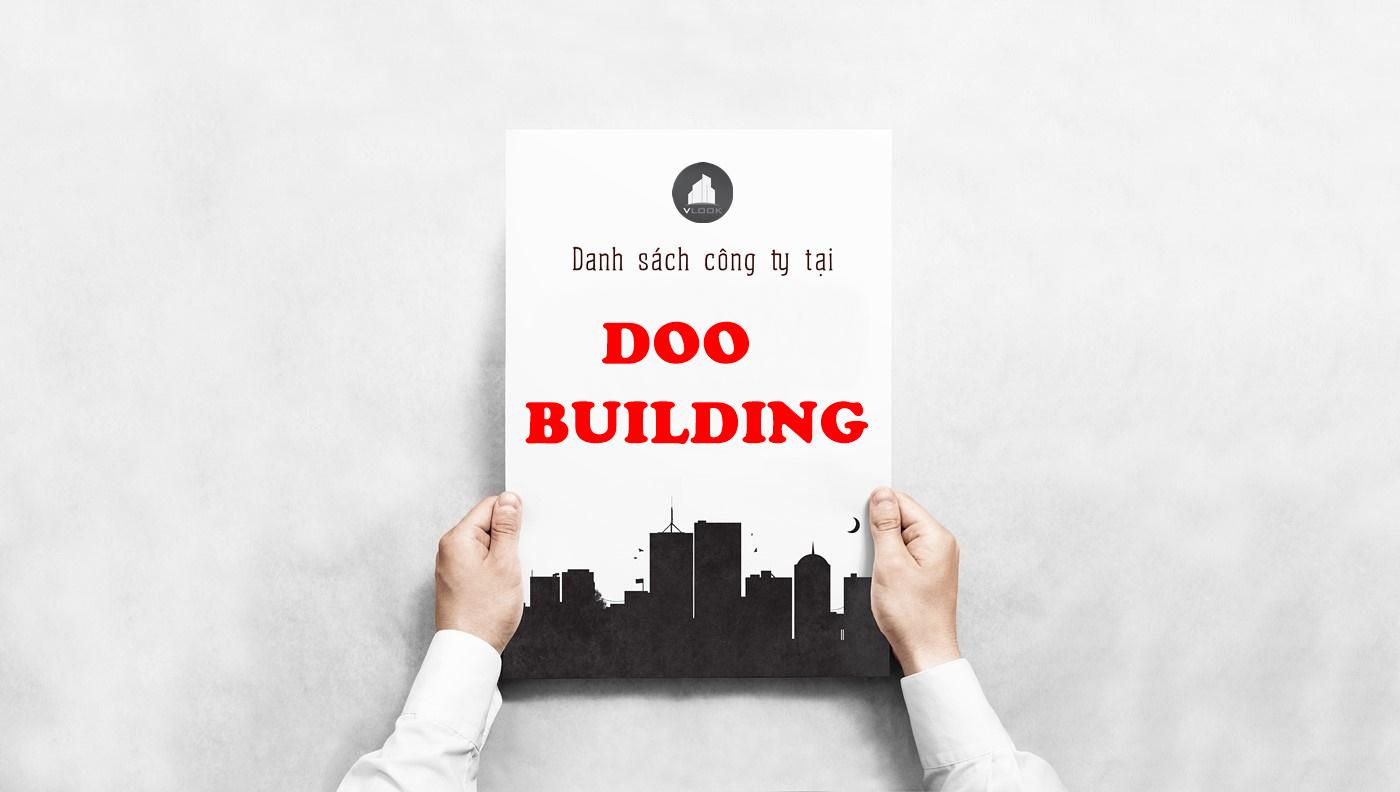 Danh sách công ty thuê văn phòng tại Doo Building, Nguyễn Văn Quá, Quận 12 - vlook.vn