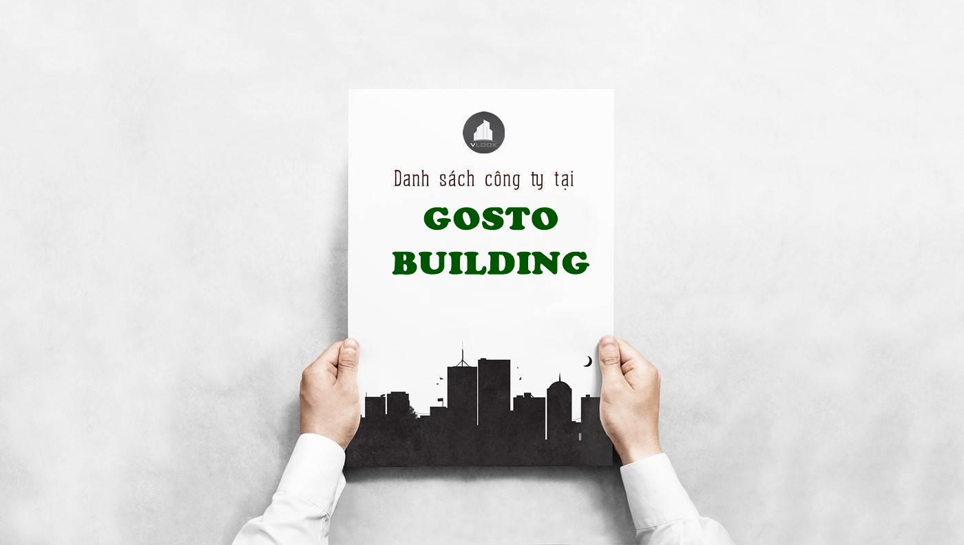 Danh sách công ty thuê văn phòng tại Gosto Building Nguyễn Khắc Viện, Quận 7 - vlook.vn