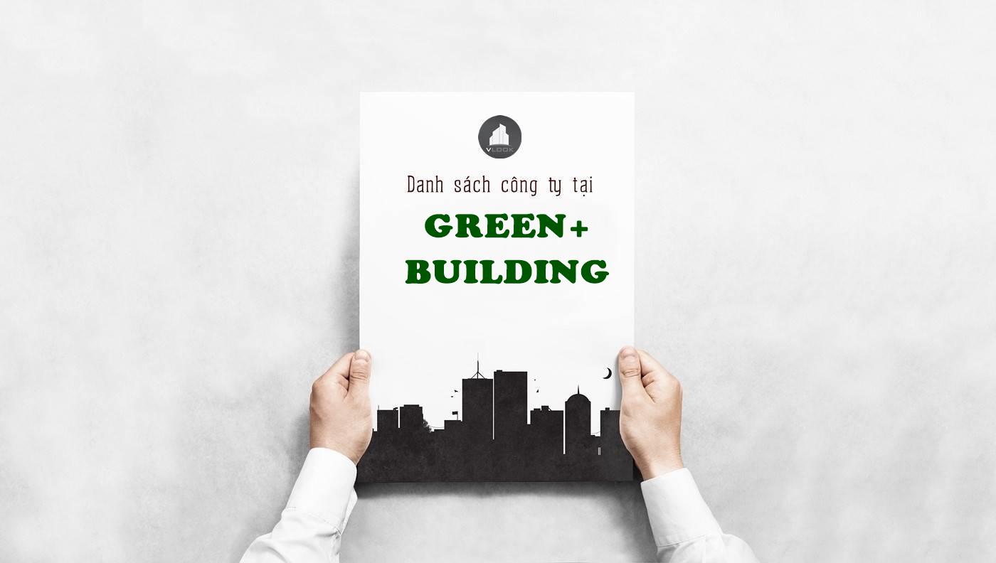 Danh sách công ty thuê văn phòng tại Green+ Building Trần Trọng Cung, Quận 7 - vlook.vn