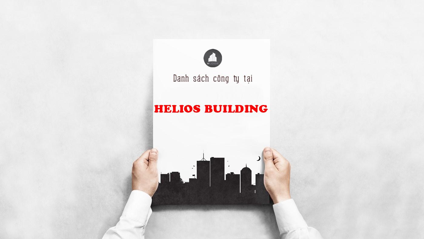 Danh sách công ty thuê văn phòng tại Helios Building, Đường số 3, Quận 12 - vlook.vn