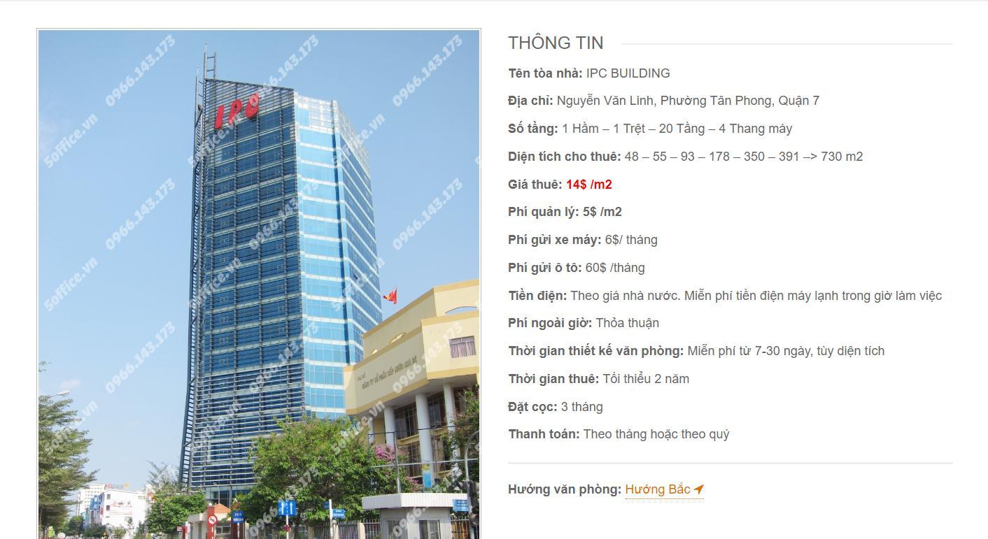 Danh sách công ty thuê văn phòng tại IPC Building Nguyễn Văn Linh, Quận 7 - vlook.vn