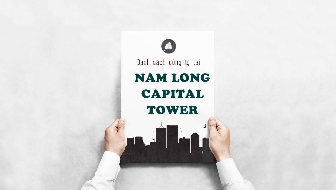 Danh sách công ty thuê văn phòng tại Nam Long Capital Tower Nguyễn Khắc Viện, Quận 7 - vlook.vn