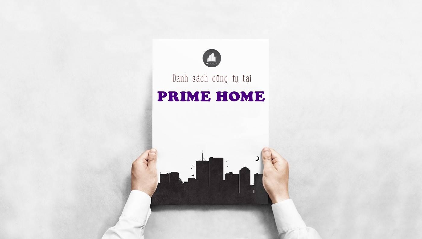 Danh sách công ty thuê văn phòng tại Prime Home Phú Thuận, Quận 7 - vlook.vn