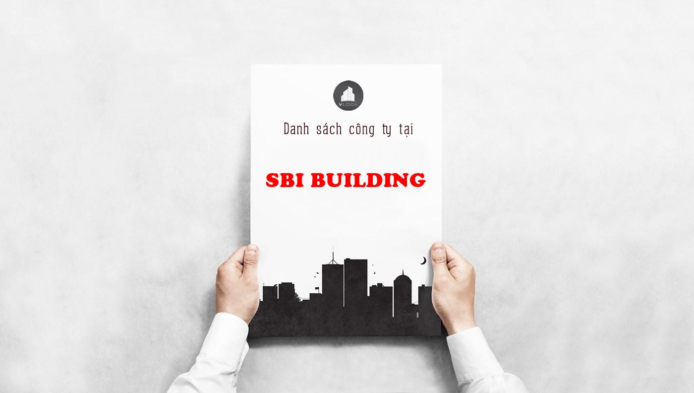 Danh sách công ty thuê văn phòng tại SBI Building, Đường số 3, Quận 12 - vlook.vn