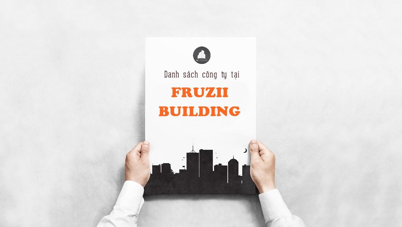 Danh sách công ty thuê văn phòng tại Fruzii Building, Quận Gò Vấp - vlook.vn