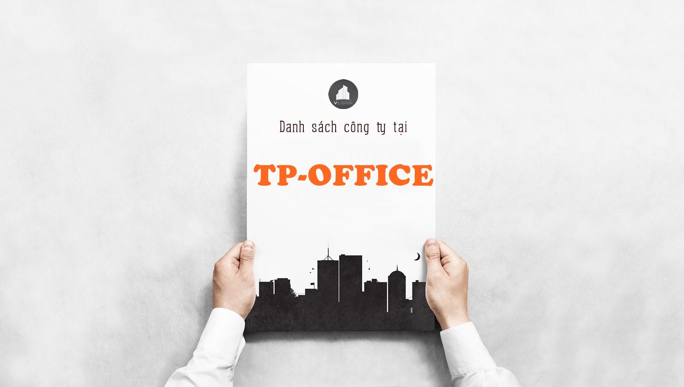 Danh sách công ty thuê văn phòng tại TP-Office, Đường 9A, Huyện Bình Chánh - vlook.vn