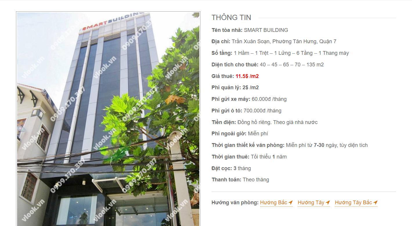 Danh sách công ty thuê văn phòng tại Smart Building Trần Xuân Soạn, Quận 7 - vlook.vn