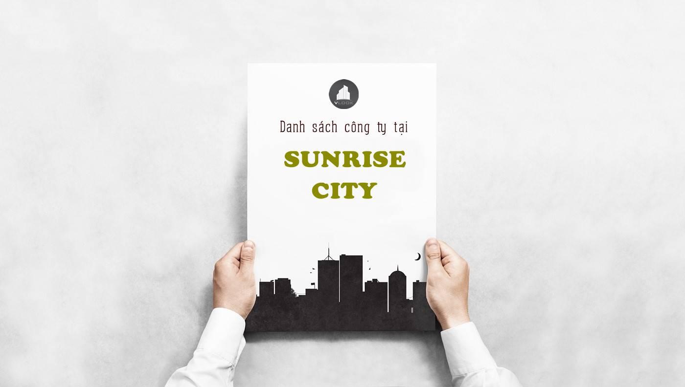 Danh sách công ty thuê văn phòng tại  Sunrise City Nguyễn Hữu Thọ, Quận 7 - vlook.vn
