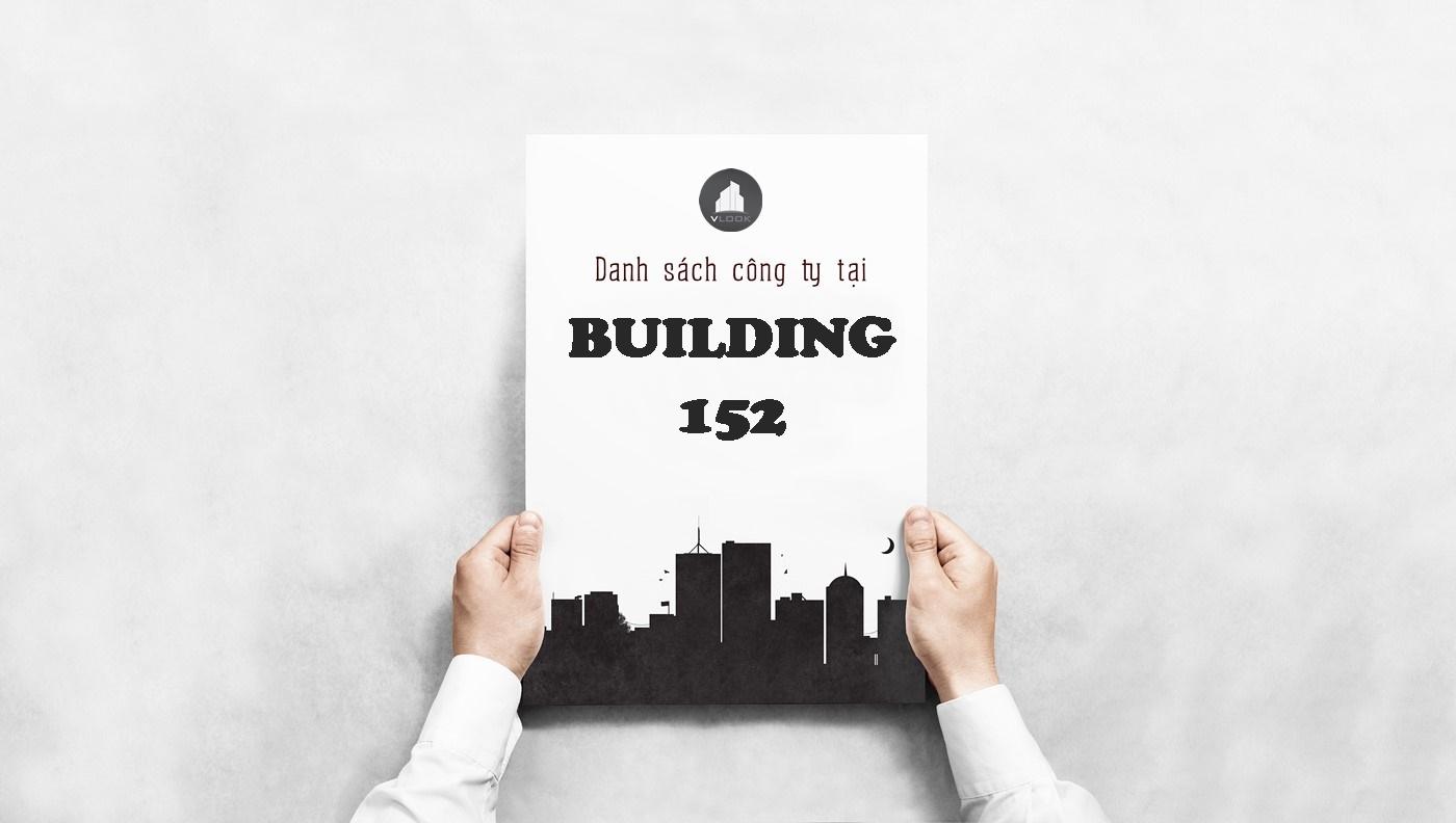 Danh sách công ty tại tòa nhà Building 152, Chu Văn An, Quận Bình Thạnh