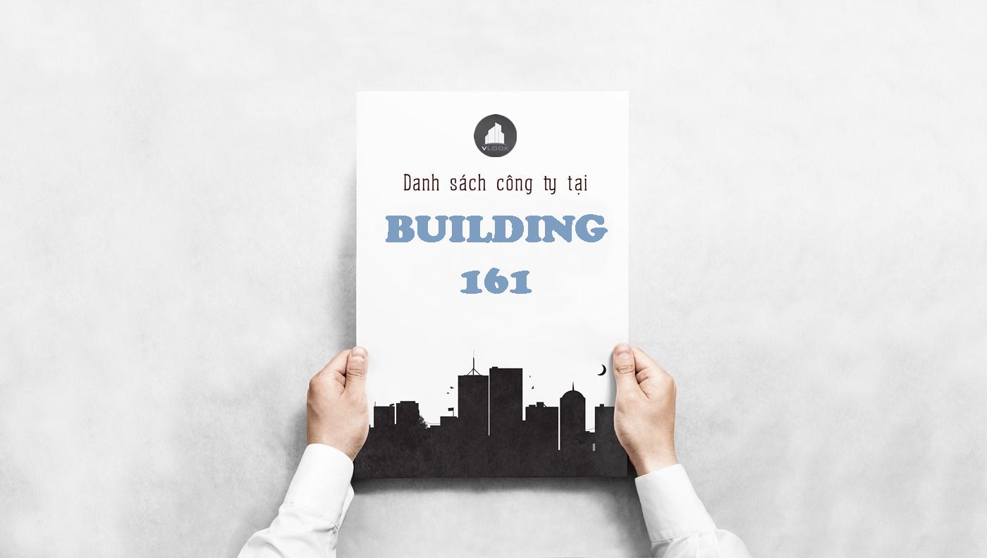 Danh sách công ty tại tòa nhà Building 161, Phan Văn Hân, Quận Bình Thạnh
