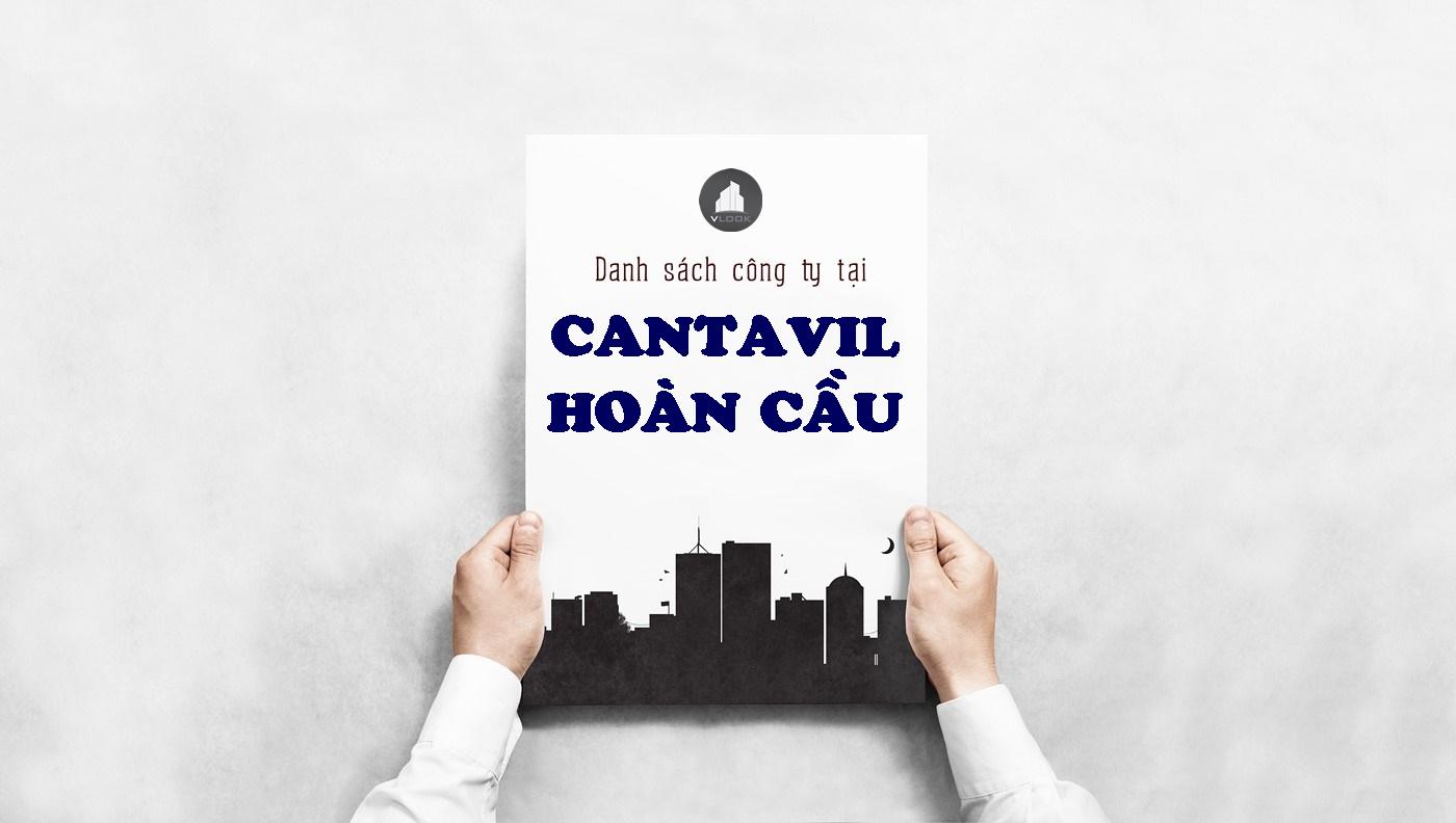 Danh sách công ty tại tòa nhà Cantavil Hoàn Cầu, Điện Biên Phủ, Quận Bình Thạnh