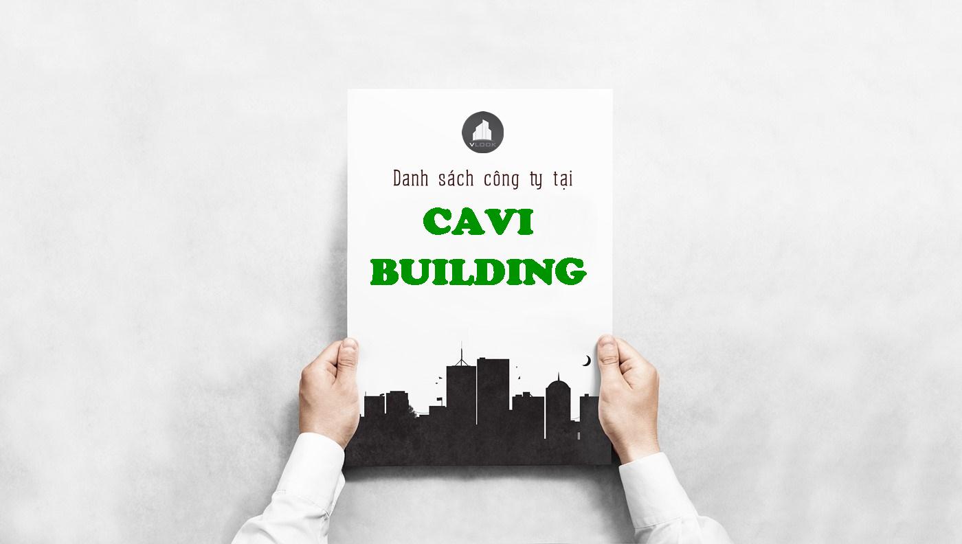 Danh sách công ty tại tòa nhà Cavi Building, Đinh Bộ Lĩnh, Quận Bình Thạnh