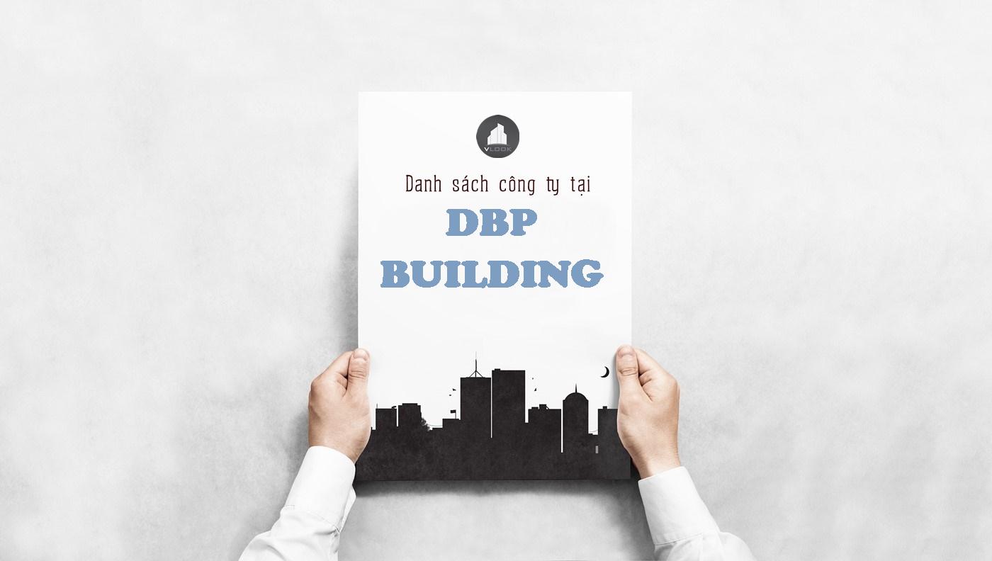 Danh sách công ty tại tòa nhà DBP Building, Nguyễn Hữu Cảnh, Quận Bình Thạnh