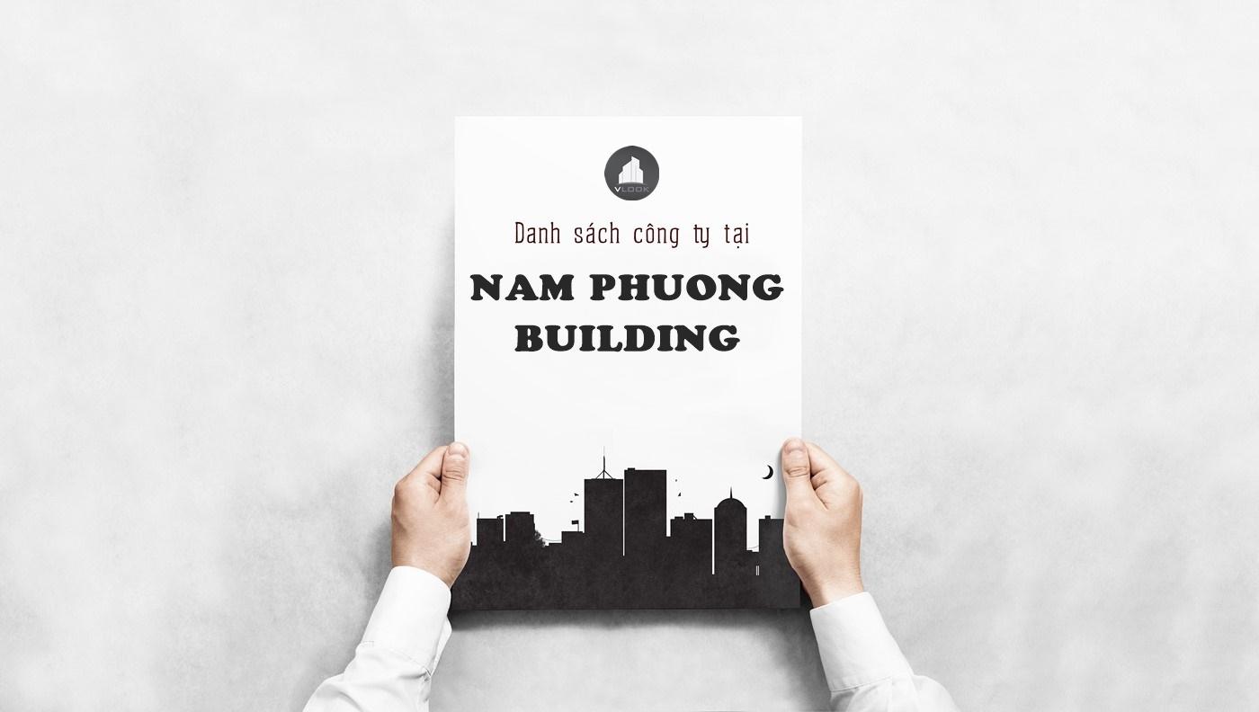 Danh sách công ty thuê văn phòng tại Nam Phương Building, Hoàng Diệu, Quận 4
