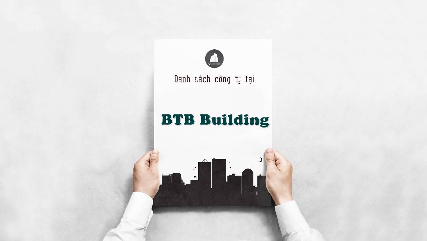 Danh sách công ty tại tòa nhà BTB Building, Quận 3
