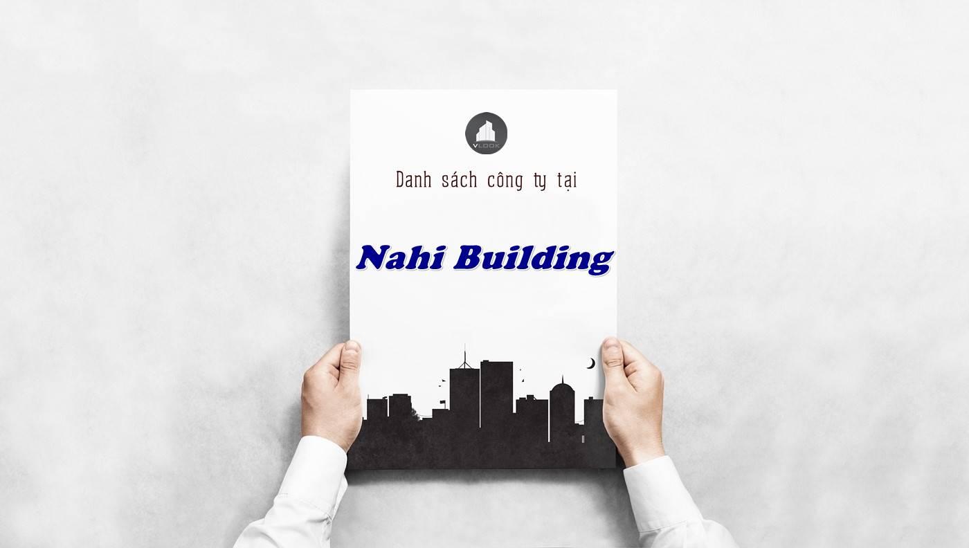 Danh sách công ty tại tòa nhà Nahi Building, Quận 3