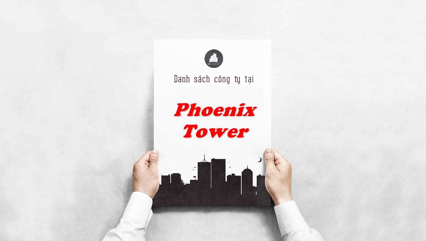 Danh sách công ty thuê văn phòng tại Phoenix Tower, Quận 5