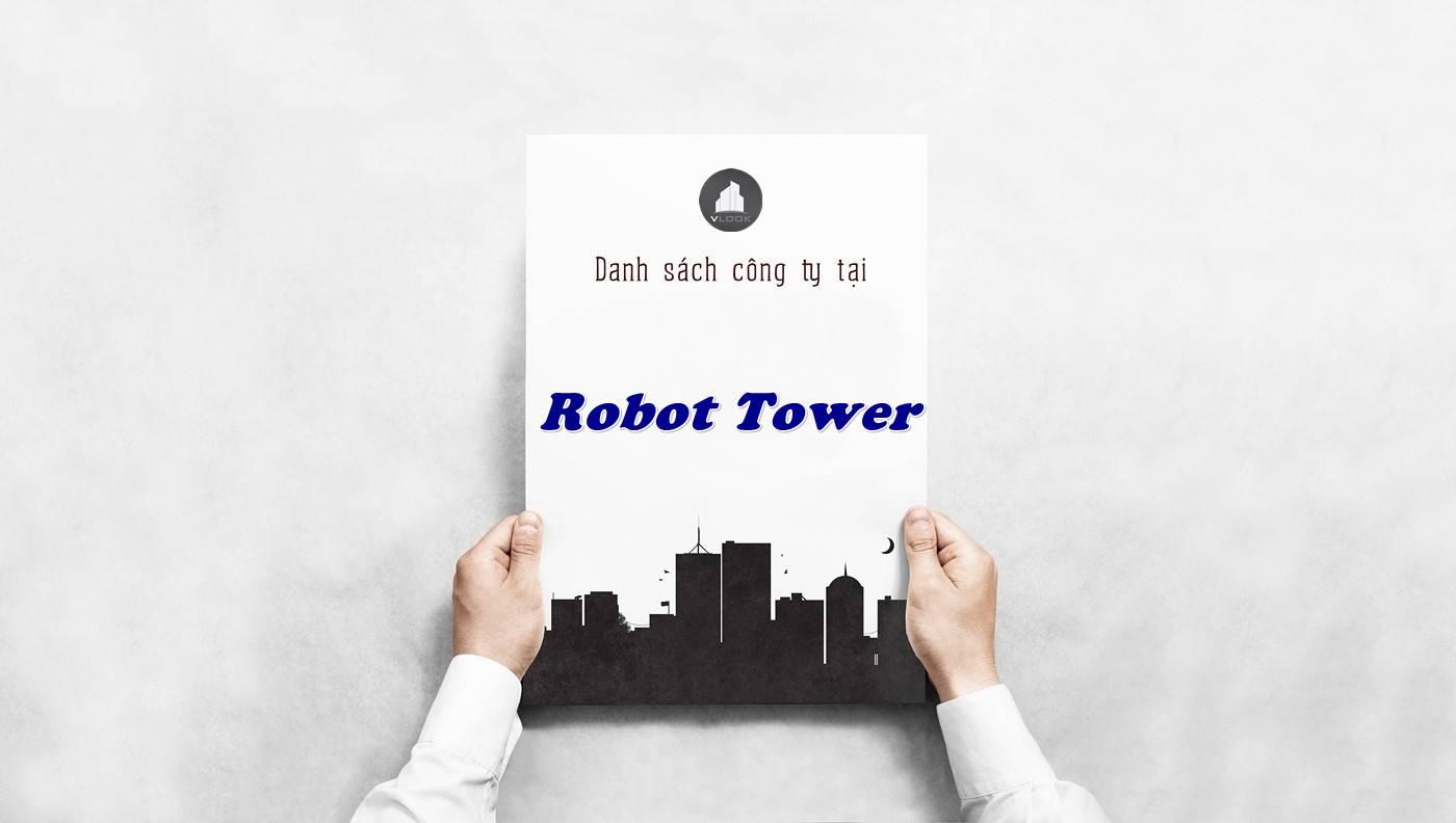 Danh sách công ty tại tòa nhà Robot Tower, Quận 3