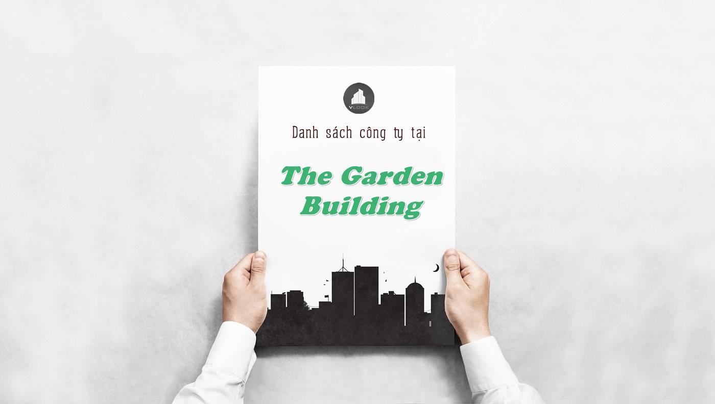 Danh sách công ty tại tòa nhà The Garden Building, Quận 3