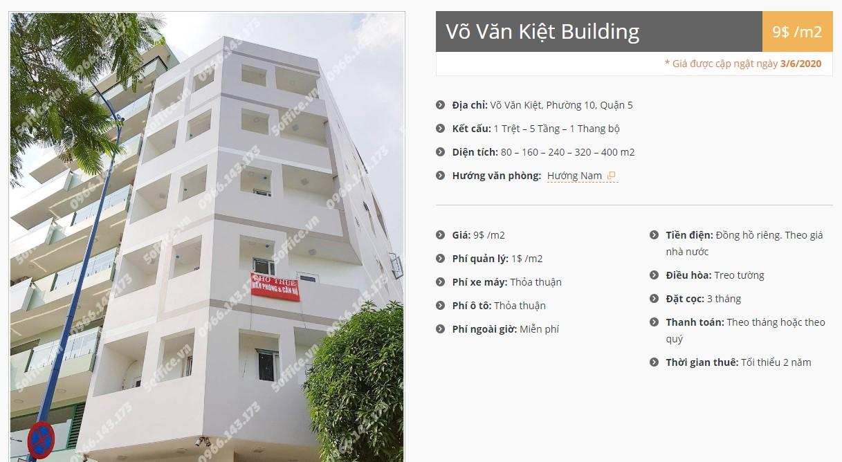 Danh sách công ty tại tòa nhà Võ Văn Kiệt Building, Quận 5