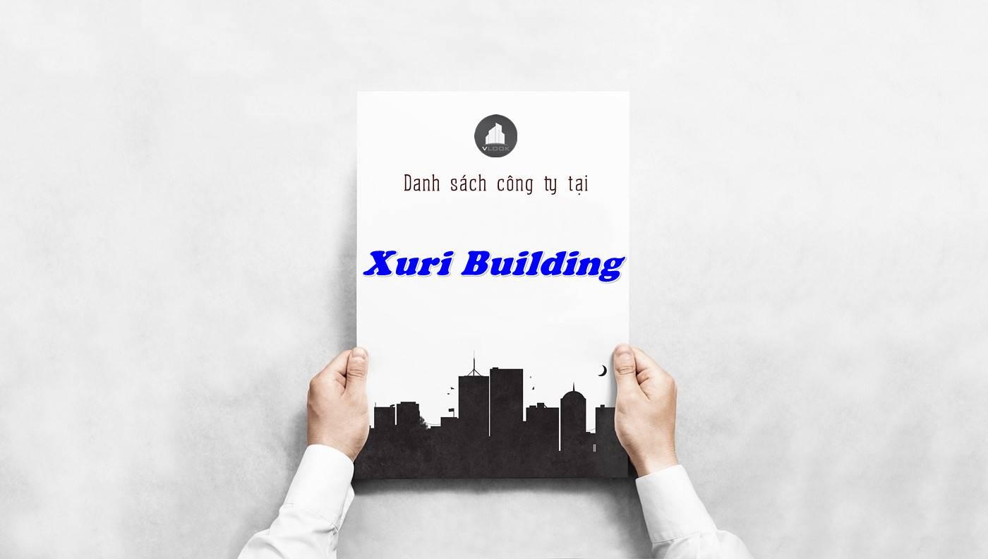 Danh sách công ty tại tòa nhà Xuri Building, Quận 3