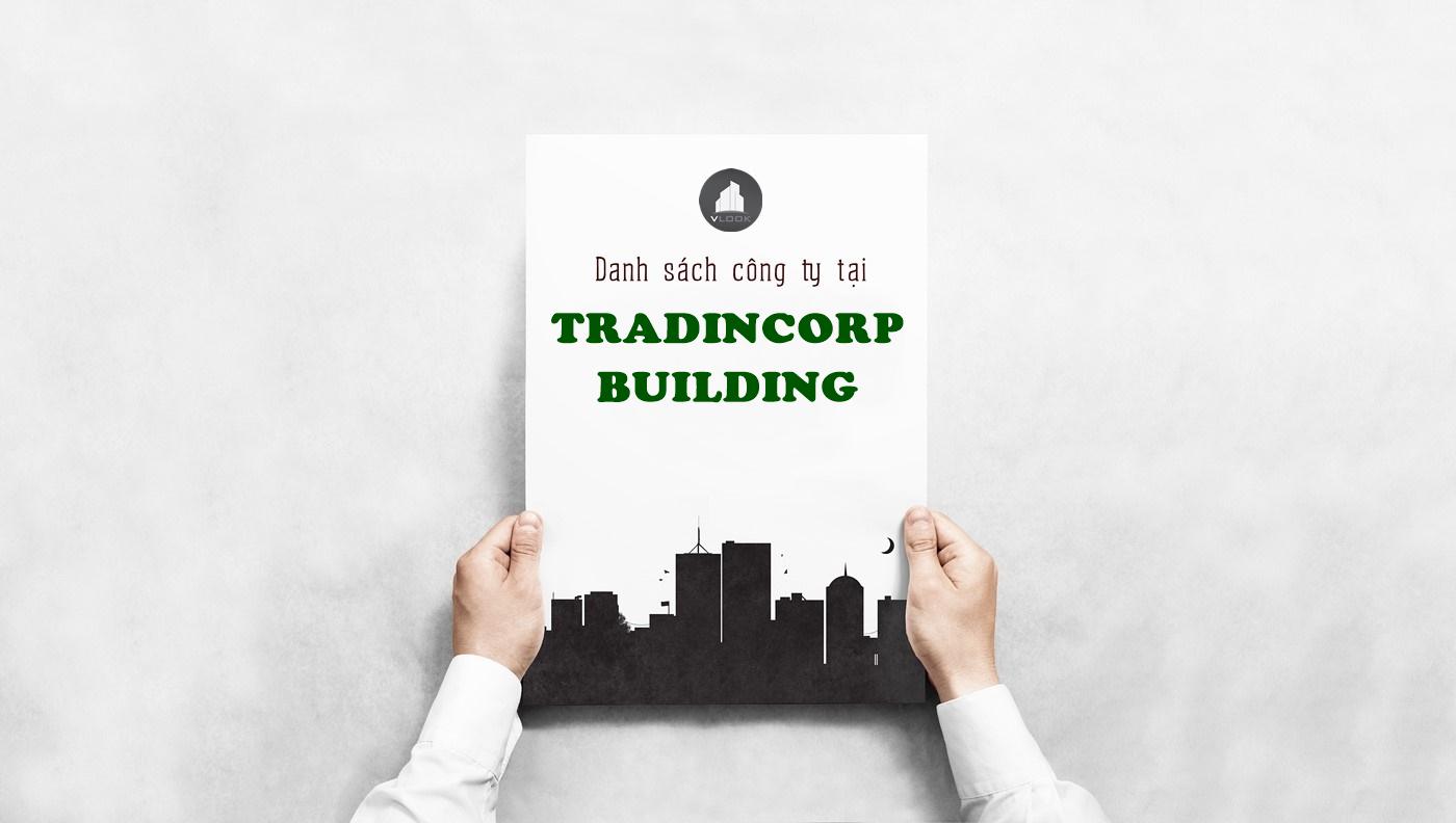 Danh sách công ty tại tòa nhà Tradincorp Building, Lê Quốc Hưng, Quận 4