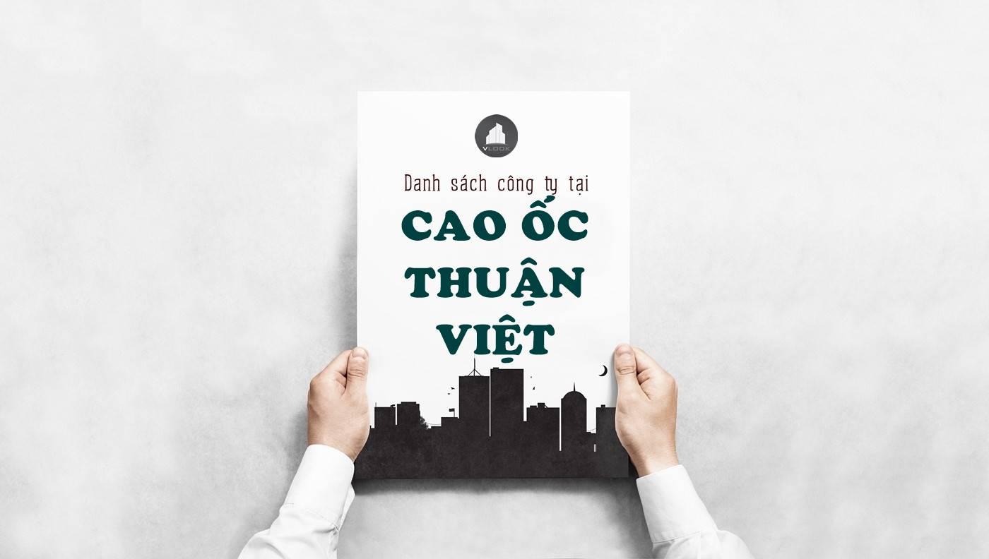 Danh sách công ty tại tòa nhà Cao ốc Thuận Việt, Lý Thường Kiệt, Quận 11