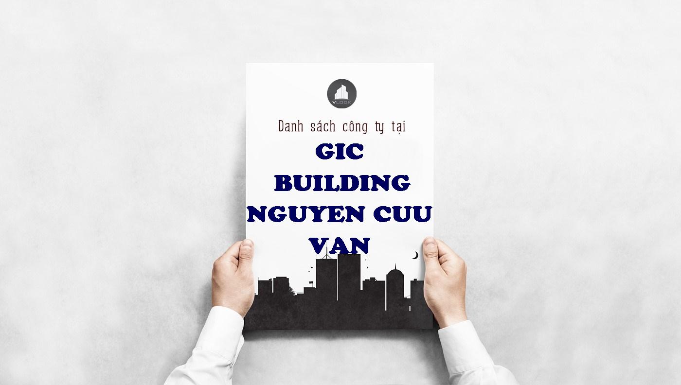 Danh sách công ty tại tòa nhà GIC Building Nguyễn Cửu Vân, Quận Bình Thạnh