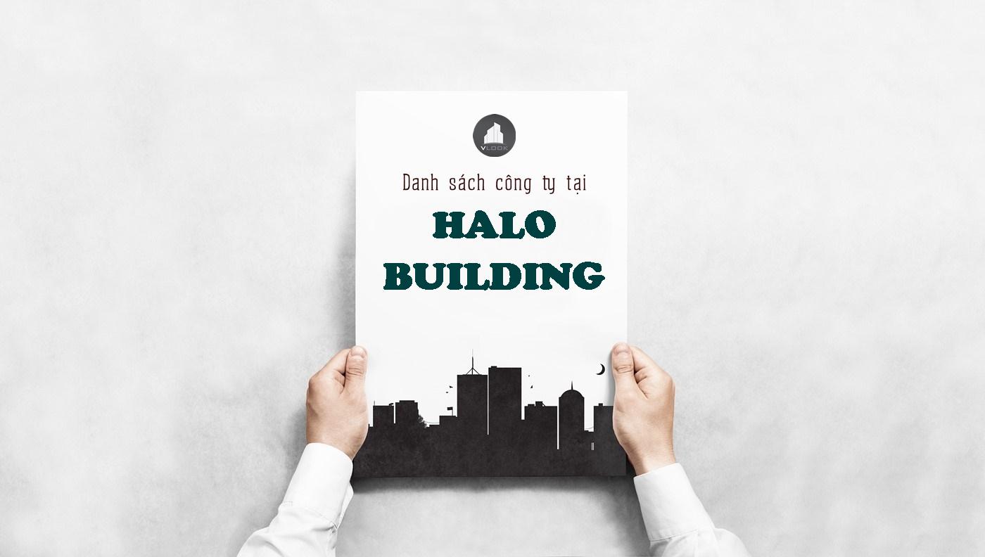 Danh sách công ty tại tòa nhà Halo Building, Nguyễn Hữu Cảnh, Quận Bình Thạnh
