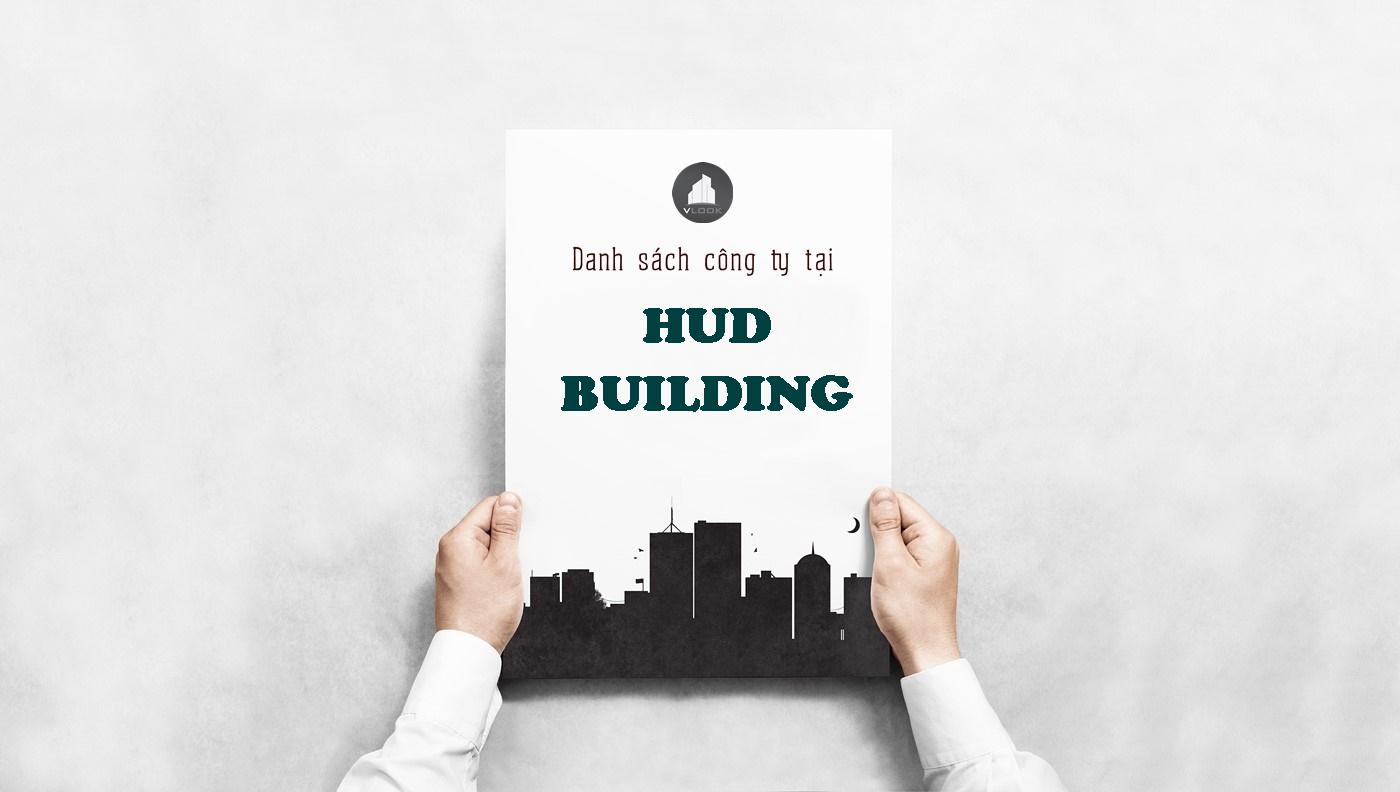 Danh sách công ty tại tòa nhà HUD Building, Điện Biên Phủ, Quận Bình Thạnh