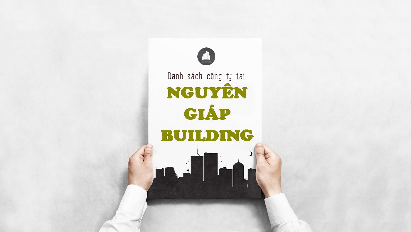 Danh sách công ty tại tòa nhà Nguyên Giáp Building, Hoàng Diệu, Quận Phú Nhuận