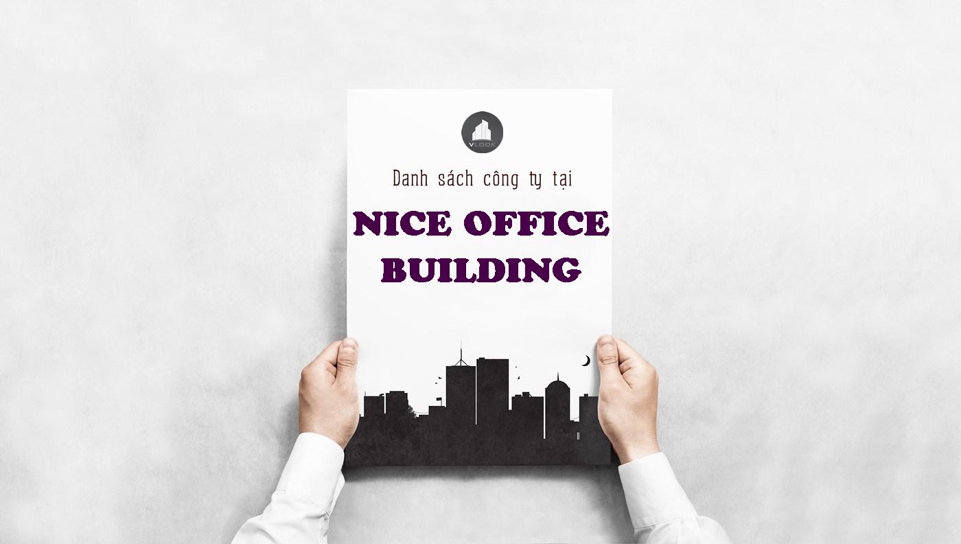 Danh sách công ty tại tòa nhà Nice Office Building, Điện Biên Phủ, Quận Bình Thạnh