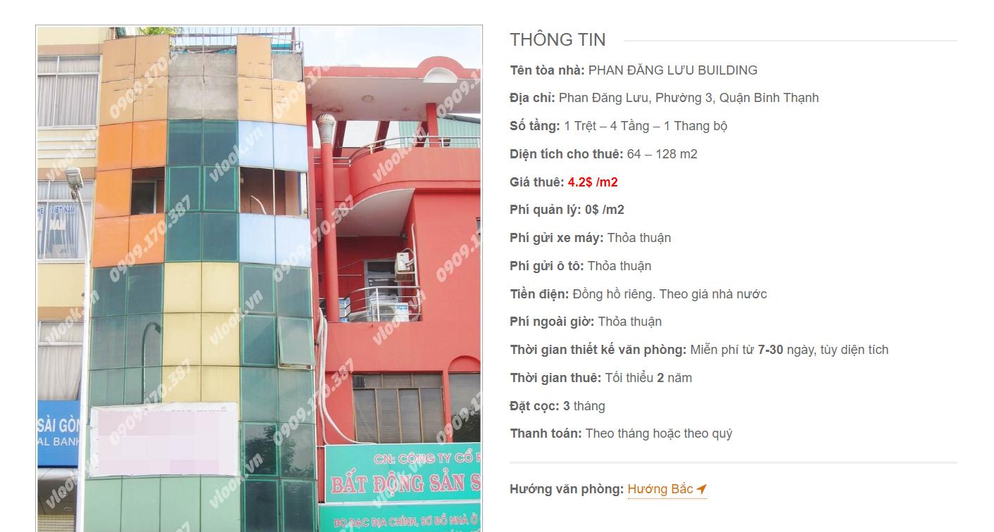 Danh sách công ty tại tòa nhà Phan Đăng Lưu Building, Lê Quang Định, Quận Bình Thạnh