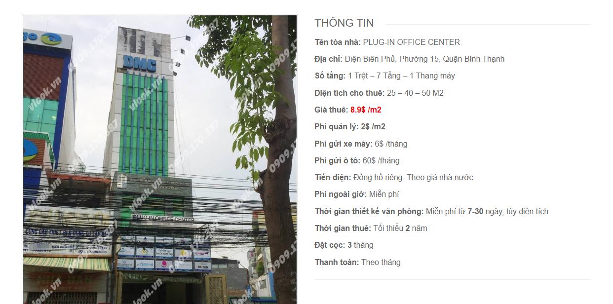 Danh sách công ty tại tòa nhà Plug-in Office Center, Điện Biên Phủ, Quận Phú Nhuận